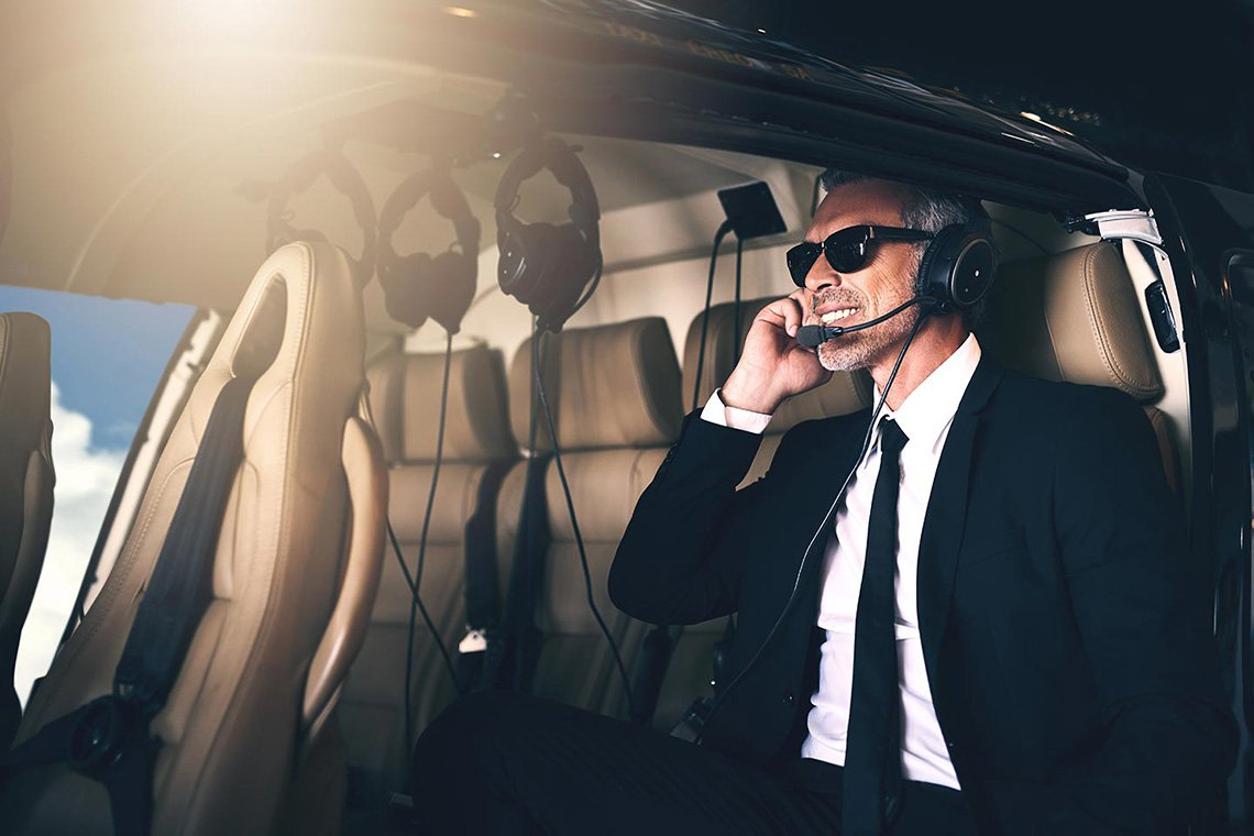 Executive Helicopter Charters in Detroit