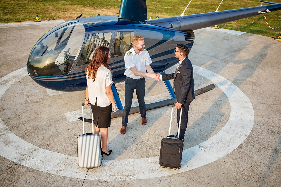 Specialty Helicopter Charters in Detroit