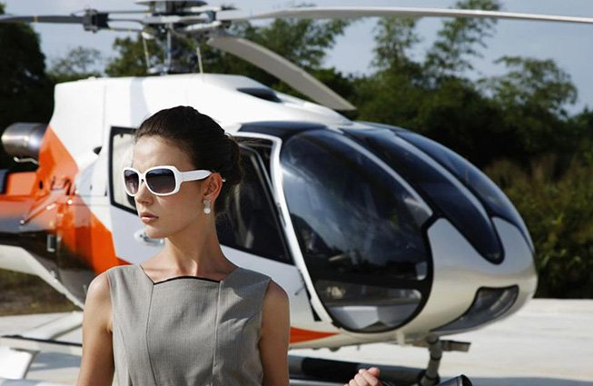 Helicopter Charters in Detroit