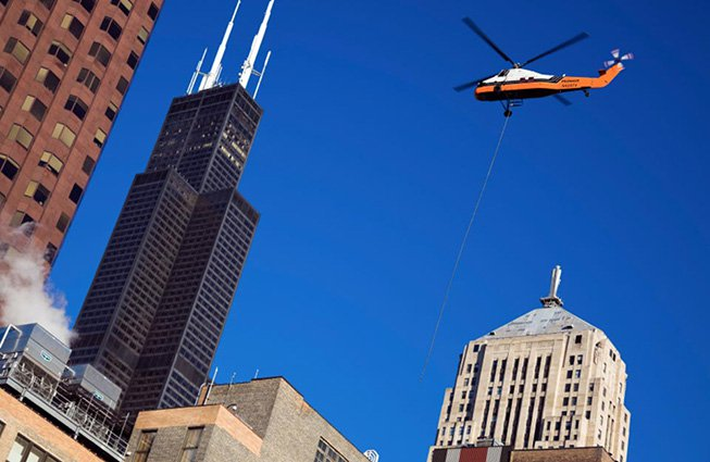 Detroit Helicopter Services - Detroit, Michigan